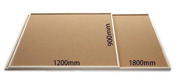 特注コルクボード納品完了(枠付、1800・1,200×900×30mm)
