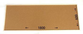 特注コルクボード納品完了(枠付、1800×600×30mm)
