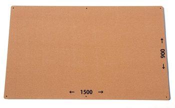 特注コルクボード納品完了(枠なし、1500×900×18mm)