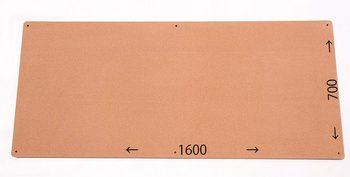 特注コルクボード納品完了(枠なし、1600×700×18mm)