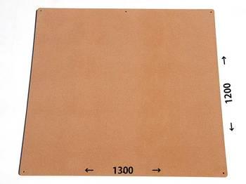 特注コルクボード納品完了(枠なし、1300×1200×18mm)
