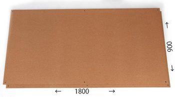 特注コルクボード納品完了(枠なし、3600×900×18mm)