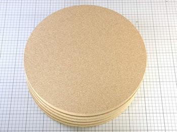 コルク円盤を納品しました。(φ350 20mm)