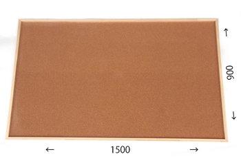 特注コルクボード納品完了(枠付、1500×900 30mm)