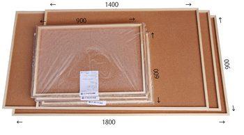 特注コルクボード納品完了(枠付、1800・1400×900  900×600 30mm)