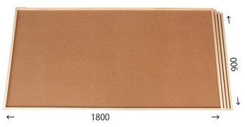 特注コルクボード納品完了(枠付、1800×900 30mm)