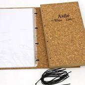 コルクのメニューブックを納品完了。(A4 特サイズ)