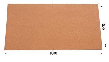 特注コルクボード納品完了(枠なし 1800×900 18mm)