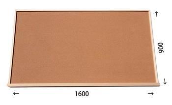 特注コルクボード納品完了(枠付 1600×900× 30mm )