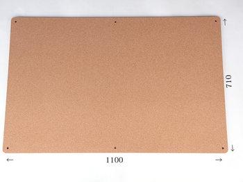 特注コルクボード納品完了(枠なし 1100×710 18mm)