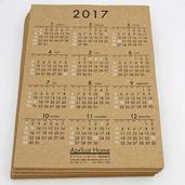 コルクカレンダー(名入れ品)納品しました。