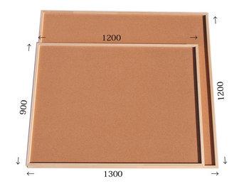 特注コルクボード納品完了(枠付 1300×1200×30mm、枠付 1200×900×30mm)
