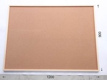 特注コルクボード納品完了(枠付 1200×900×30mm)