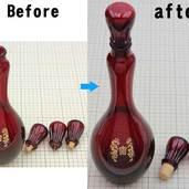 ボトルキャップの修理をしました。