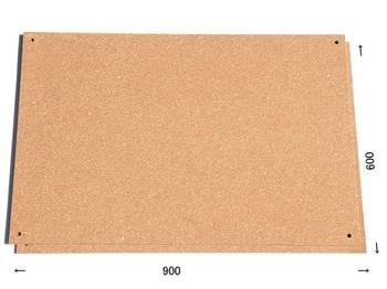 特注コルクボード納品完了(枠なし屋外仕様、600×900 13.5mm)