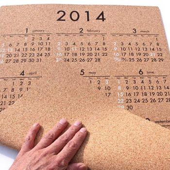 カレンダー(12ヶ月一覧)