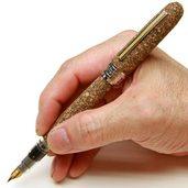 コルク貼り万年筆