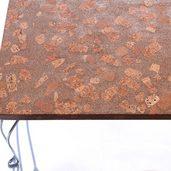 リサイクルコルクで作ったちゃぶ台