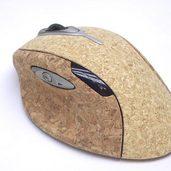 コルク貼りレーザーマウス