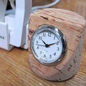 コルク栓時計作りました。