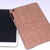 iPad のコルクカバーケース作りました。
