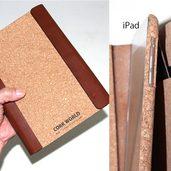 コルクでノートカバー作りました。