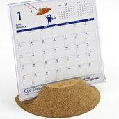 卓上カレンダーのコルクベース